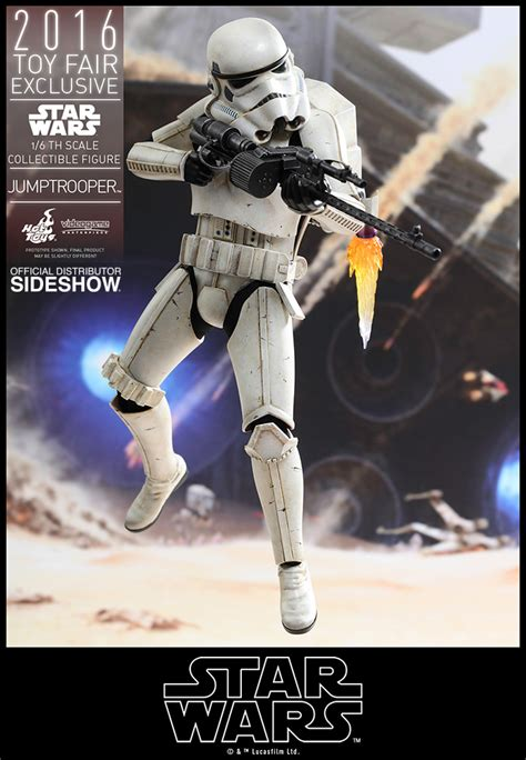 star wars jumptrooper sixth scale figure  hot toys