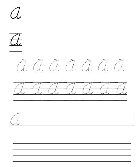 handwriting worksheet maker free worksheets for all