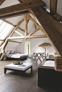 chambre sous les combles la decoration parfaite 10 With chambre dans les combles photos