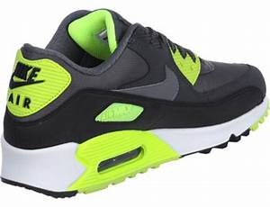 Nike Air Max 90 LE shoes grey neon yellow