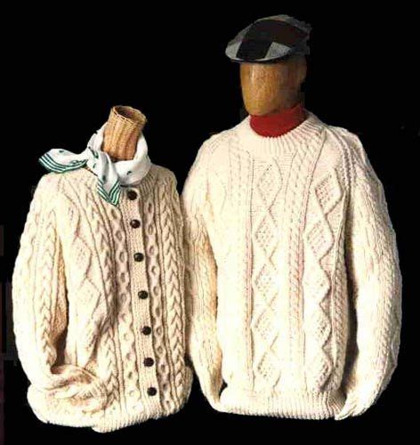 Irish Fisherman Knit Sweater Pattern