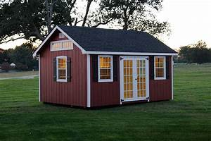 photo gallery of the lancaster style shed from overholt in With barn style garden sheds