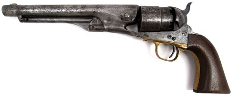 US Army Model 1860 Colt revolver – August 6, 1862 | Museum ...