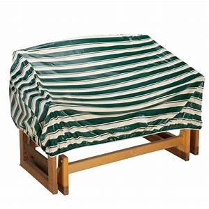 Deluxe glider sofa cover furniture covers outdoor for Outdoor glider furniture covers