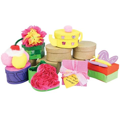 pretty papier mache gift boxes mothers day