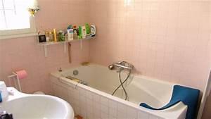 relooker une salle de bain a petit prix i deco cool With peinture carrelage salle de bain prix