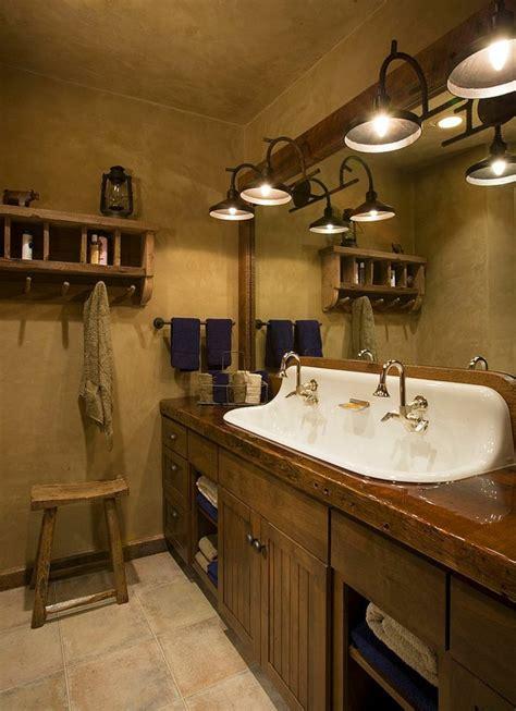 kohler brockway rustikale möbel 50 beispiele für moderne badmöbel im