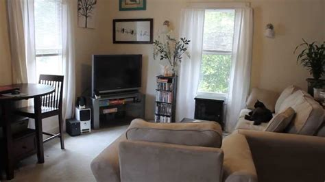 living   studio apartment youtube