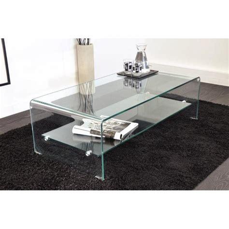 table en verre but tables basses tables et chaises table basse design side en verre tremp 233 12mm transparent