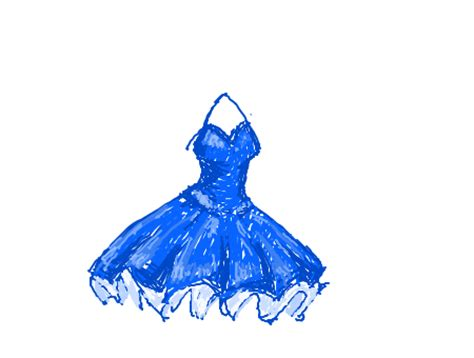 forum draw  poofy dress     give