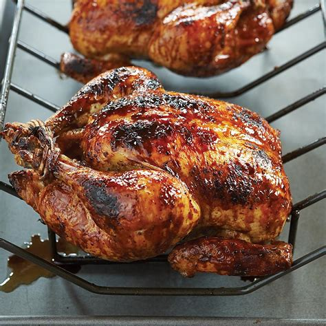 brown sugar balsamic glazed grill roasted chicken cooks country