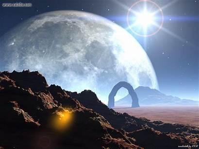 Alien Space Worlds Planet Desktop Wallpapers Distant