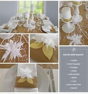 Hochzeitsdeko Ideen Selber Machen : diy hochzeitsdeko in wei und gold selber machen von deko kitchen deko kitchen ~ Markanthonyermac.com Haus und Dekorationen