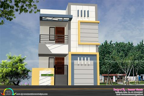 9 Feet Front Home Design : 16 Feet Width House Plan Architecture