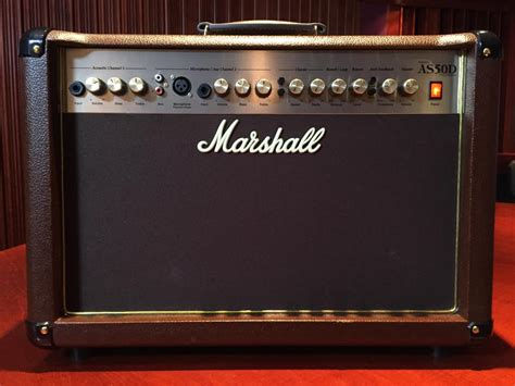 Marshall As50d Two-channel Acoustic Guitar Amp