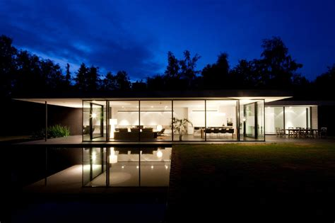 Modern Houses : House Faes By Hvh Architecten