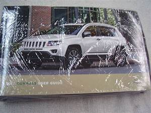 2017 Jeep Compass Owners Manual Set Factory Sealed