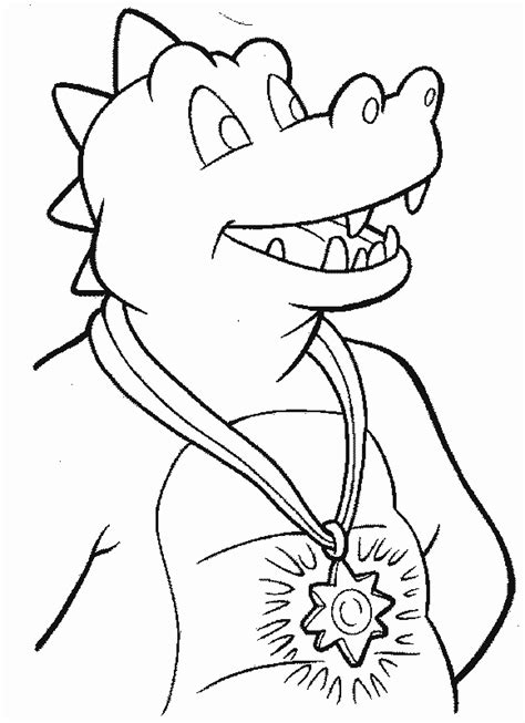 tales dragon dt4 coloring pages