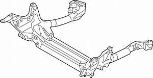 2016 Audi A6 Suspension  Subframe  3 0 Liter Diesel  3 0