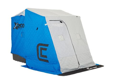 Clam X200 Pro Thermal Sled Ice Shelter  L & M Fleet Supply