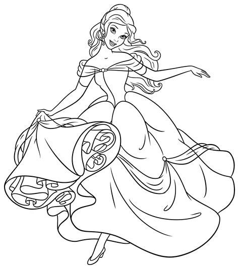 giochi da colorare principesse principesse da colorare