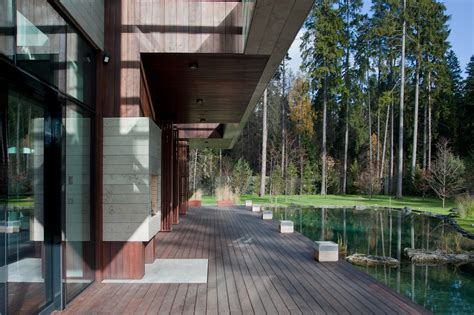 inspirasi arsitektur rumah mewah  kolam eksterior interior arsitektur arsitekturme