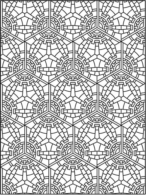 tessellation patterns coloring pages pinterest