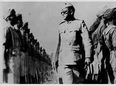 Indian National Army Subhash Chadra Bose With INA