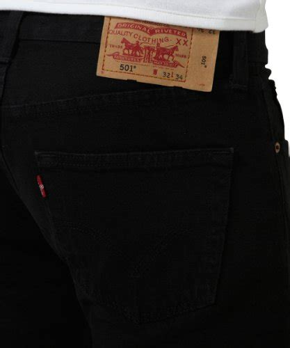 levis mens  straight jeans black size  length   frenzystyle