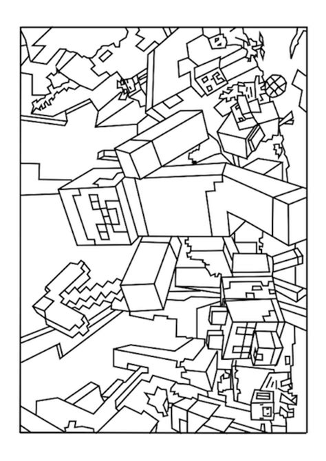 Luxury Ideas Minecraft Coloring Pages World Free Printable  Coloring Pages