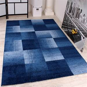 Teppich Landhausstil Blau : moderner designer webteppich kariert in verschiedenen gr ssen und farben wohn und schlafbereich ~ Markanthonyermac.com Haus und Dekorationen