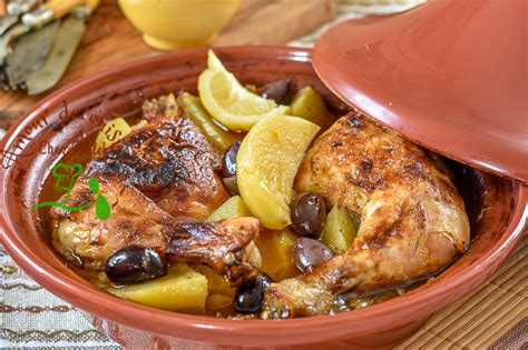 tajine de poulet à la pomme de terre amour de cuisine