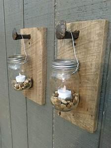 1000+ ideas about Mason Jar Sconce on Pinterest Barn