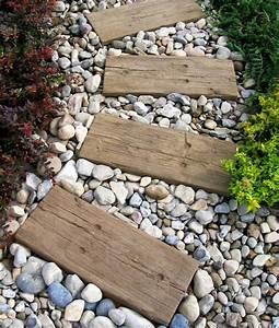 Gartenwege Aus Holz : 17 best images about gartengestaltung garten und landschaftsbau on pinterest do it yourself ~ Eleganceandgraceweddings.com Haus und Dekorationen