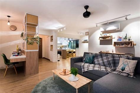 Home Design Ideas For Hdb Flats by 24 Scandinavian Style Hdb Flats And Condos To Inspire You