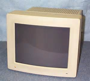Old Apple Computer Monitor