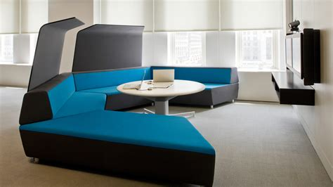 corner media center media scape lounge seating office furnishings steelcase