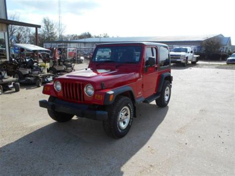 mail jeep 4x4 purchase used 2006 jeep wrangler sport 4x4 hard top
