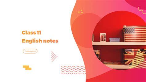 class  english notes  fbise    top