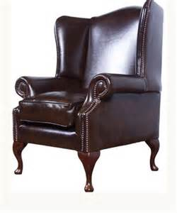 high back chair the cavendish leather high backed chair