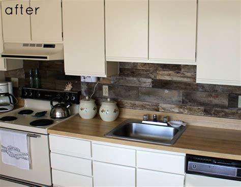 wood kitchen backsplash before after reclaimed wood kitchen backsplash design