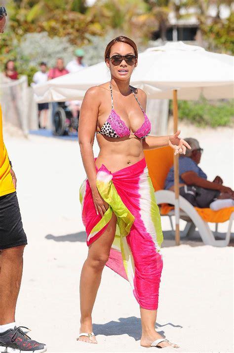 evelyn lozada   bikini   beach  miami hawtcelebs