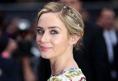 Emily Blunt Carpet Hair Updo Embellished London