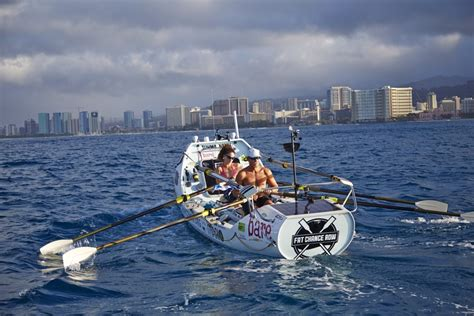 Row Boat From California To Hawaii by Aloha Rowing Reach Hawaii Sfgate