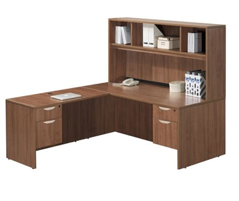 Office Furniture L Shaped Desk by Ndi Office Furniture Classic Series L Shaped Desk W Hutch