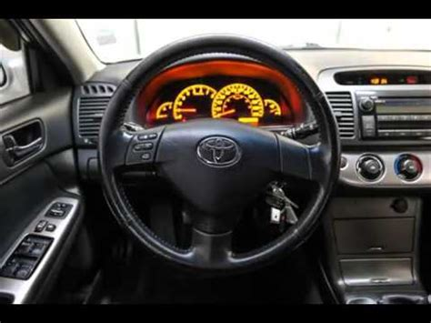 car service manuals pdf 2005 toyota camry instrument cluster mark wilsons better used cars 2005 toyota camry se 5 speed manual w alloys spoiler 1 owner