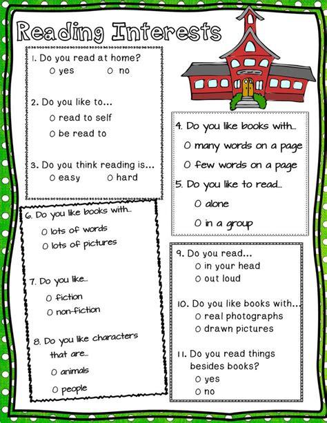 Best 25 Reading Interest Survey Ideas On Pinterest Interest Survey Reading Interest - best 25 interest inventory ideas on pinterest student questionnaire student interest survey