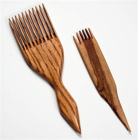 traditional combs forks navajo weaver