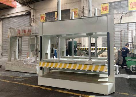 stable working woodworking press machine hydraulic wood press machine