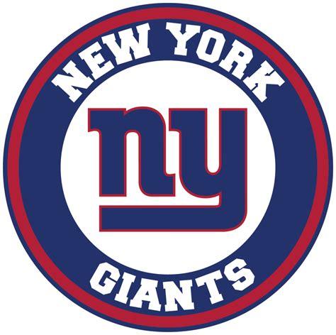york giants circle logo vinyl decal sticker  sizes
